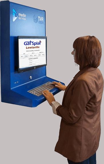 Computer kiosk pc