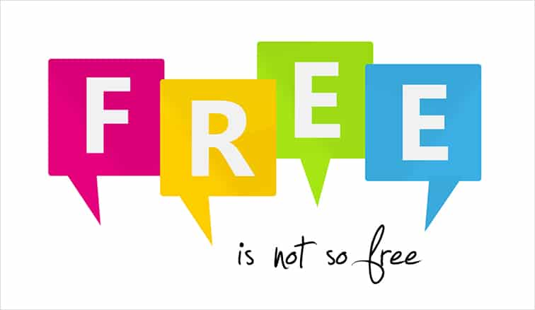Is Free Free?